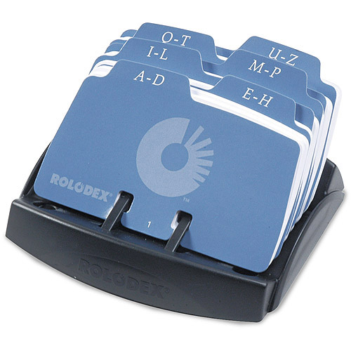 Rolodex Petite Open Tray Card File