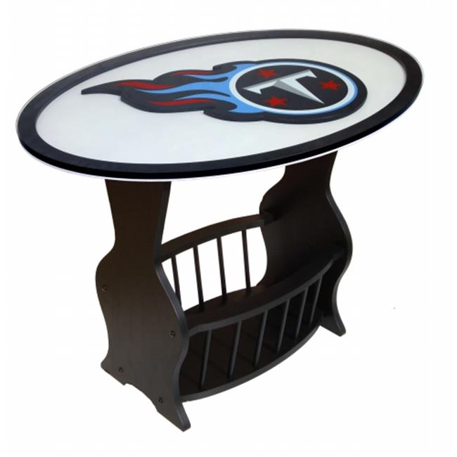 Fan Creations N0537-TEN Tennessee Titans Logo End Table