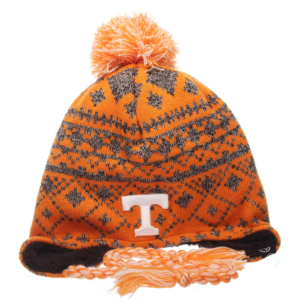 Tennessee Volunteers Vols UT Beanie Zephyr Teton Knit Hat by Zephyr