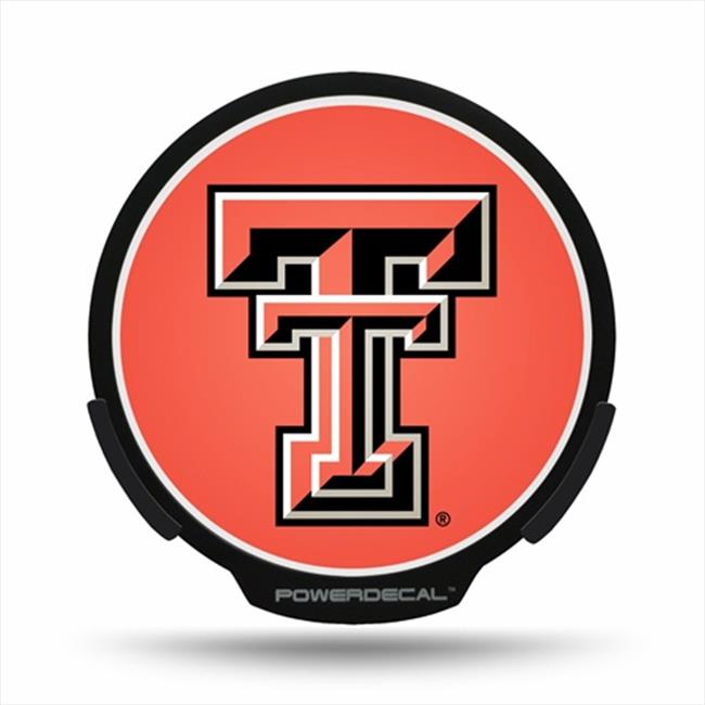 AXIZ GROUP PWR260801 LED Light-Up Decal Texas Tech