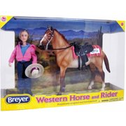Breyer Classics Western Horse & Rider by Reeves International