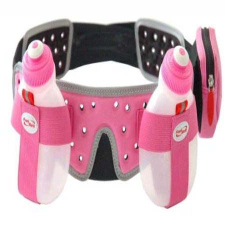 FuelBelt Helium 2 Bottle Belt, Pink, X-Large - Helium Bottle