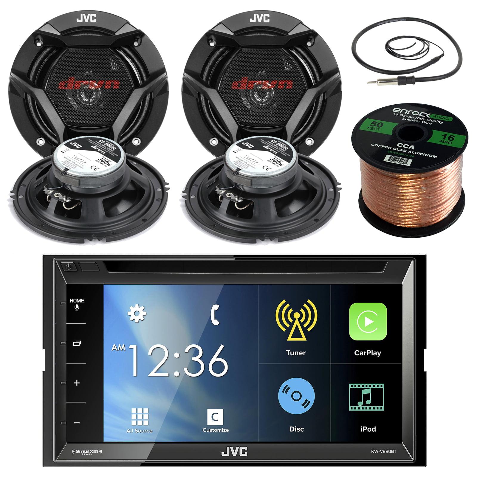 """JVC KWV820BT 6.8"""" Touch Screen Car CD/DVD Bluetooth Recei..."""