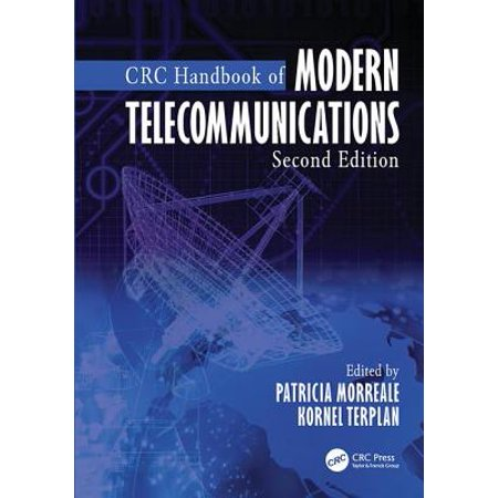 - CRC Handbook of Modern Telecommunications, Second Edition