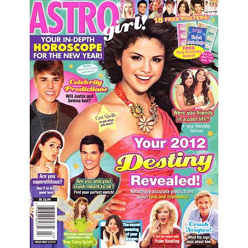 Astro girl teen magazine