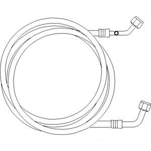 119749A1 Line Compressor Return AC Fits Case IH 2166 2188