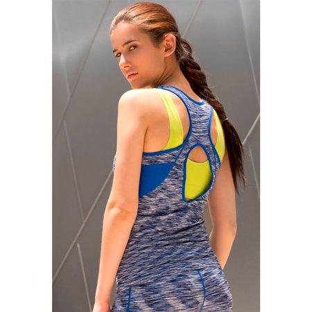 Active Sport Fashion Seamless Yoga Zig Zag Tank Top
