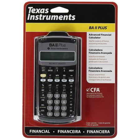 (Texas Instruments) Advanced Financial Calculator (Ba Ii (Texas Instruments Ba Ii Plus South Africa)