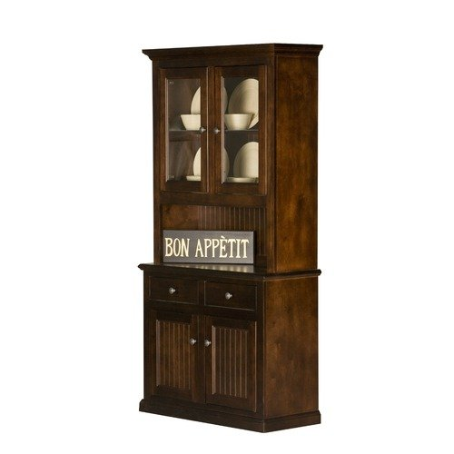 Eagle Industries Coastal China Cabinet - Walmart.com