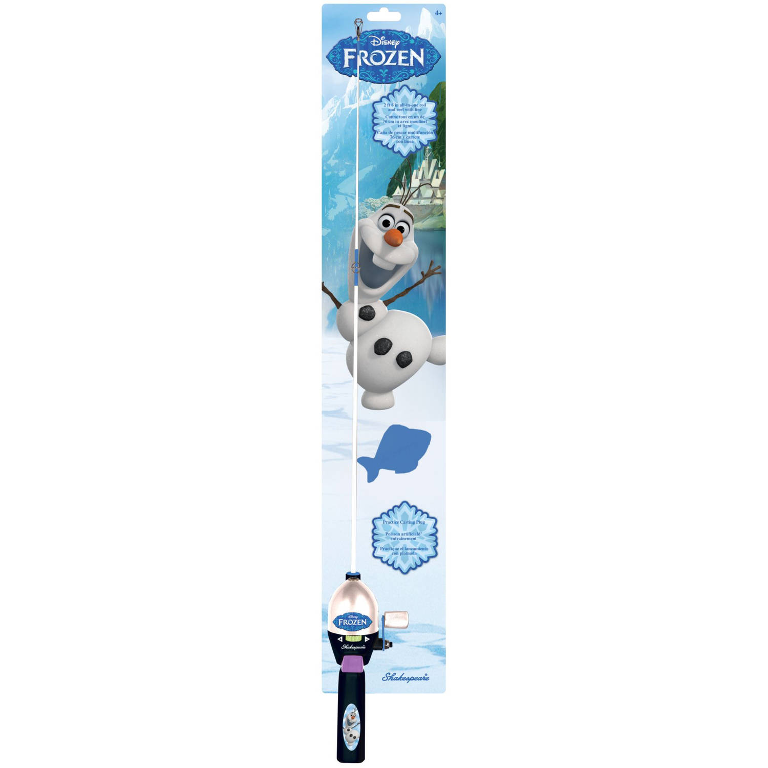 Shakespeare Disney Frozen Olaf Beginner's Starter Fishing Kit by Shakespeare