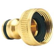 Bowake Brass Garden Hose Tap Connector (3/4) Quick Hose Adaptor Accessories