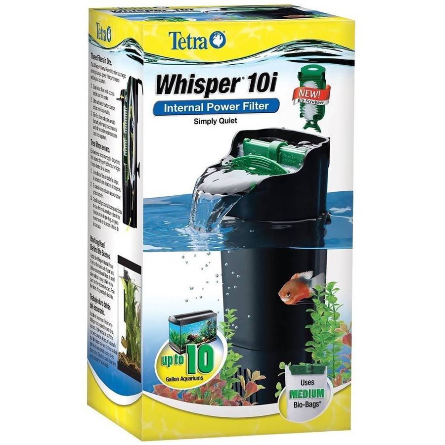 Whisper In-Tank Filter 10i, upto 10 Gal