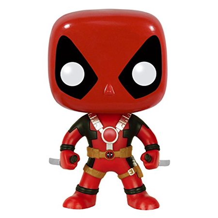 POP Marvel: Deadpool Two Swords Action Figure, Tony Dressed Exclusive Kirito Suit 111 Funko Sword Version Trading Real Bloody Asuna EB SpiderMan II Arrow.., By FunKo for $<!---->