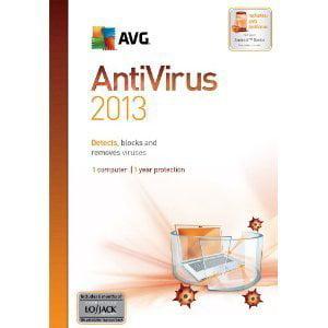 AVG AntiVirus 2013 - 1 PC - GRI070800F632 CD-ROM Windows