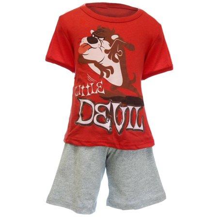 Looney Tunes - Little Devil Taz Toddler 2 Piece Set Devils Two Piece