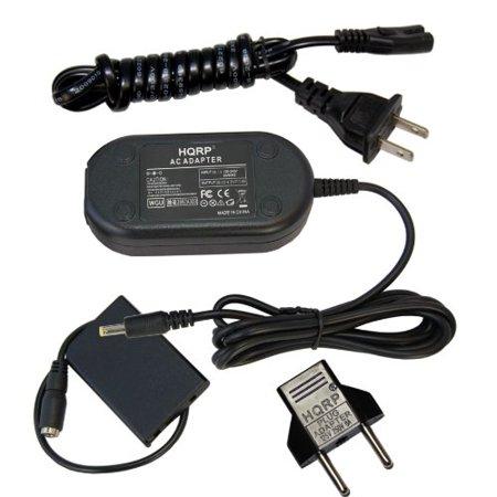HQRP AC Adapter for NIKON EH-62A 25627 fits COOLPIX P80 P90 P100 P500 P510 P520 P5000 P5100 3700 4200 5200 5900 7900 P3 P4 S10 S11 Digital Camera Power Supply Cord EN-EL5 + Euro Plug Adapter