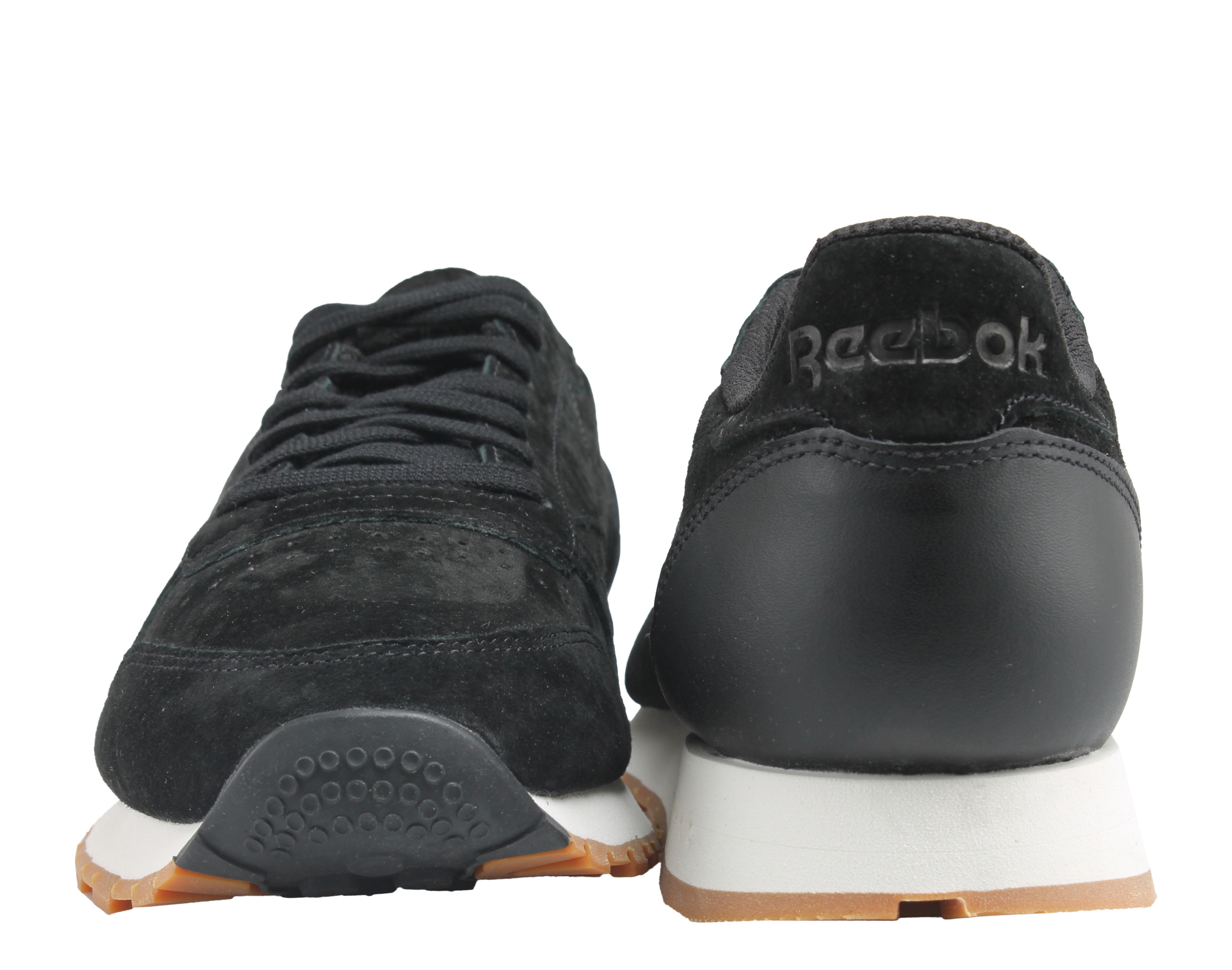 87f2d60277c Reebok - Reebok Classic Leather SG Smoky Black Chalk Gum Men s Running Shoes  BS7892 - Walmart.com