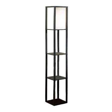 Square Etagere Floor Lamp Storage And Display Shelf Walmart Canada