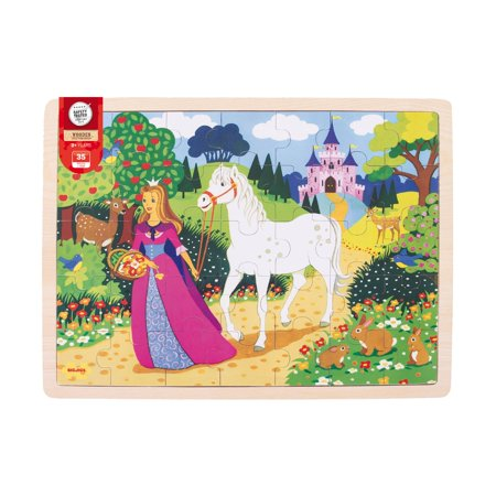Wooden Once Upon a Time Tray Puzzle: 35 Pcs