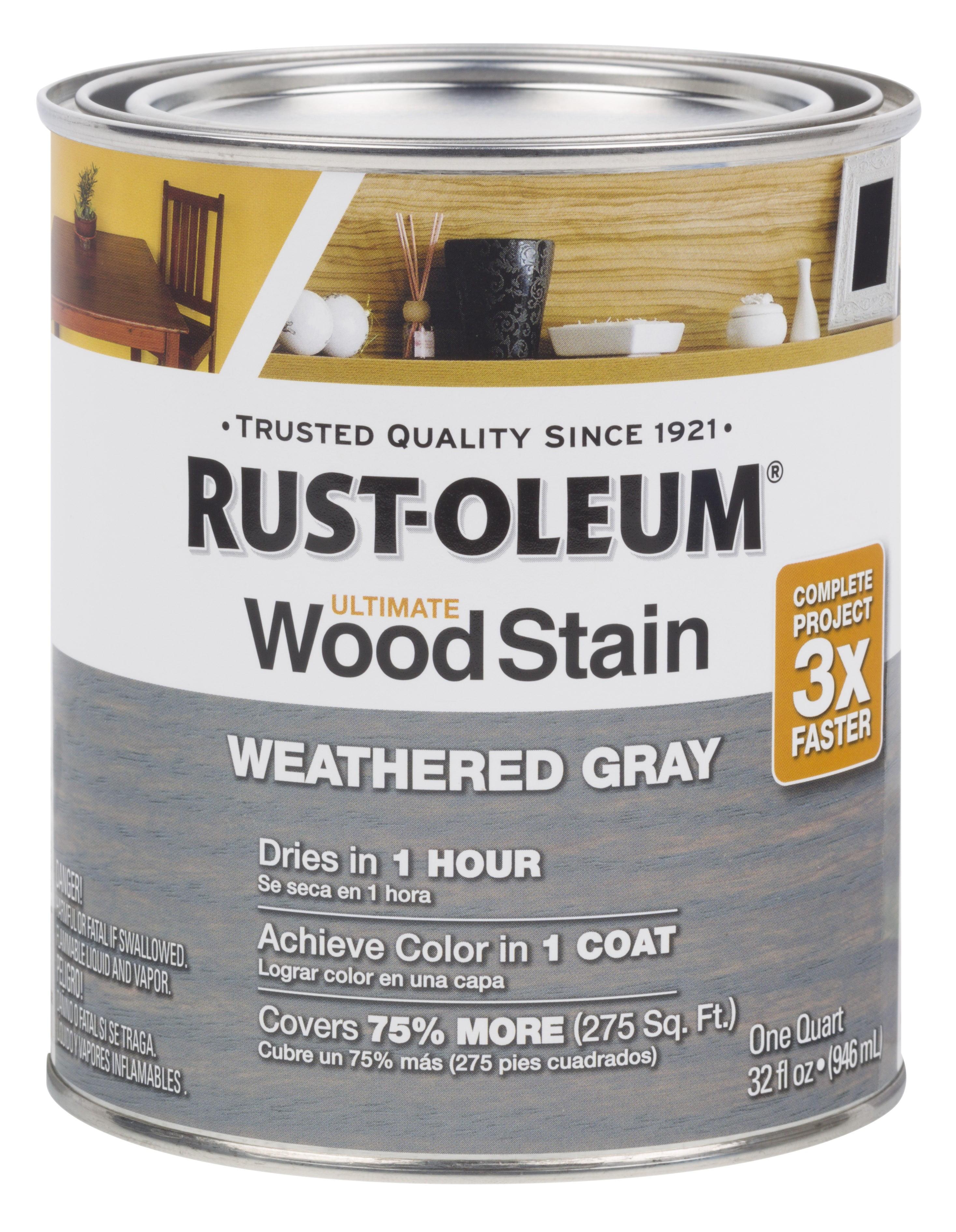 Weathered Gray Rust Oleum Ultimate Wood