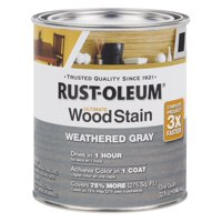 Weathered Gray Rust-Oleum Ultimate Wood Stain, Quart