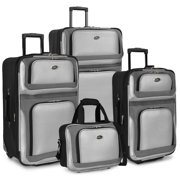 Best Suitcases - U.S Traveler New Yorker Lightweight Expandable Rolling Luggage Review