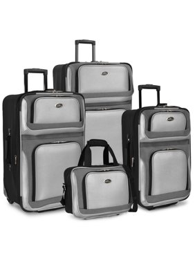 bab053e05e8e Product Image U.S. Traveler New Yorker 4-Piece Luggage Set