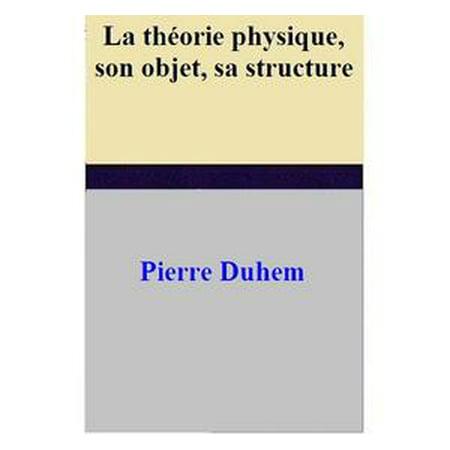 La théorie physique, son objet, sa structure - - Objets D'halloween