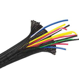 Clear Wire Reviews (Flexo F6 Braided Cable Wire Sleeving Wrap Cable Management in Black, Orange or Clear - Techflex )