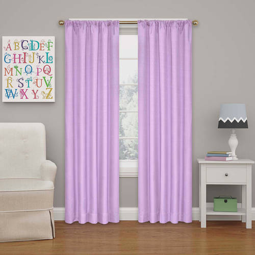 walmart curtains for living room eclipse kendall room darkening window curtain panel 17973