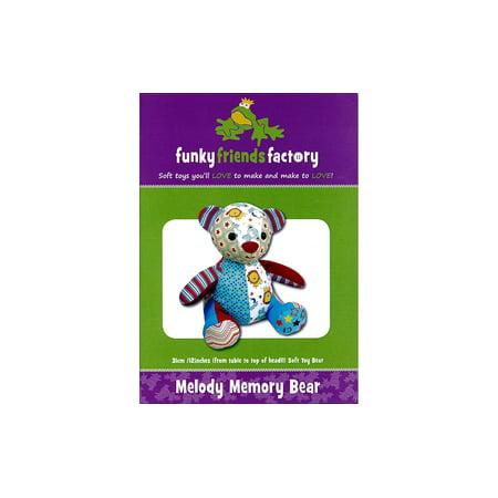 Forever Friend Bears (Funky Friends Factory Melody Memory Bear Ptrn )