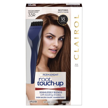 Clairol Nice \'n Easy Root Touch-Up Permanent Hair Color, Darkest ...