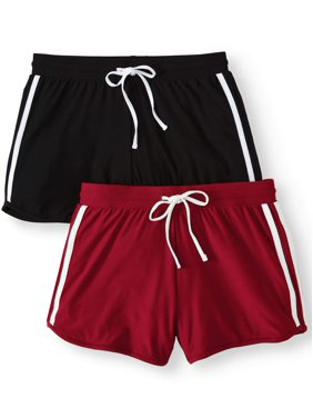 e2b795f8273c Product Image Juniors  Basic Knit Shorts with Tie-Front 2-Pack Value Bundle