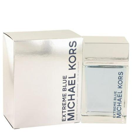Michael Kors Extreme Blue by Michael Kors - Men - Eau De Toilette Spray 4 (Michael Kors Navy Blue)
