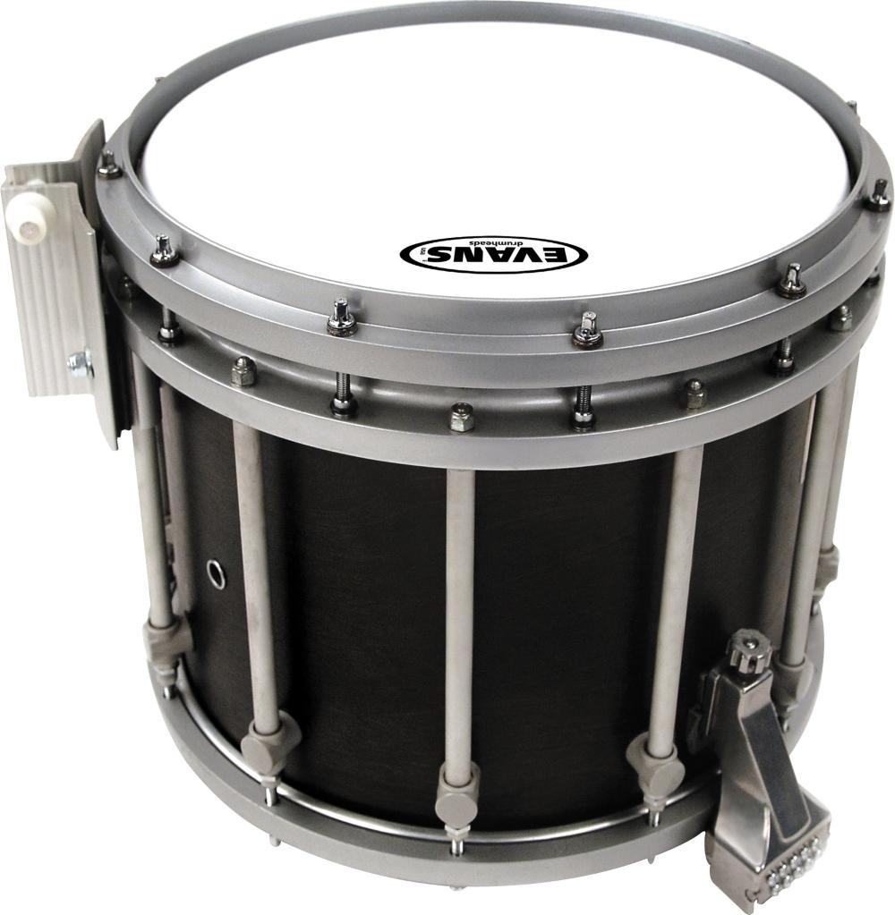 Hybrid Marching Snare Drum Batter Head White
