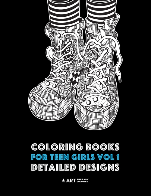 - Coloring Books For Teen Girls Vol 1: Detailed Designs: Complex Designs For  Older Girls & Teenagers; Zendoodle Owls, Butterflies, Flowers, Leaves,  Landscapes, Swirls & Patterns (Paperback) - Walmart.com - Walmart.com