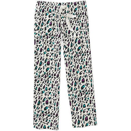 Perfect Leisureland Women39s Mustache Print Cotton Knit Pajama Pants  15751015