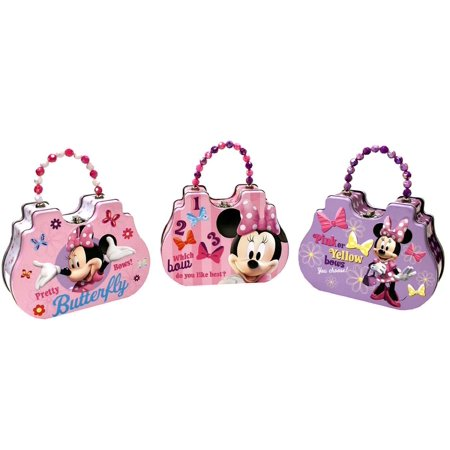 Satchel Box - Disney - Minnie Mouse - Metal Tin Box New Gifts 524107 (1 Style)