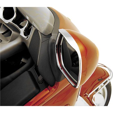 2004 Chrome Trim Accessory (Show Chrome Visored Mirror Trim - HON GOLD WING 2001 - 2004; HON GOLD WING)