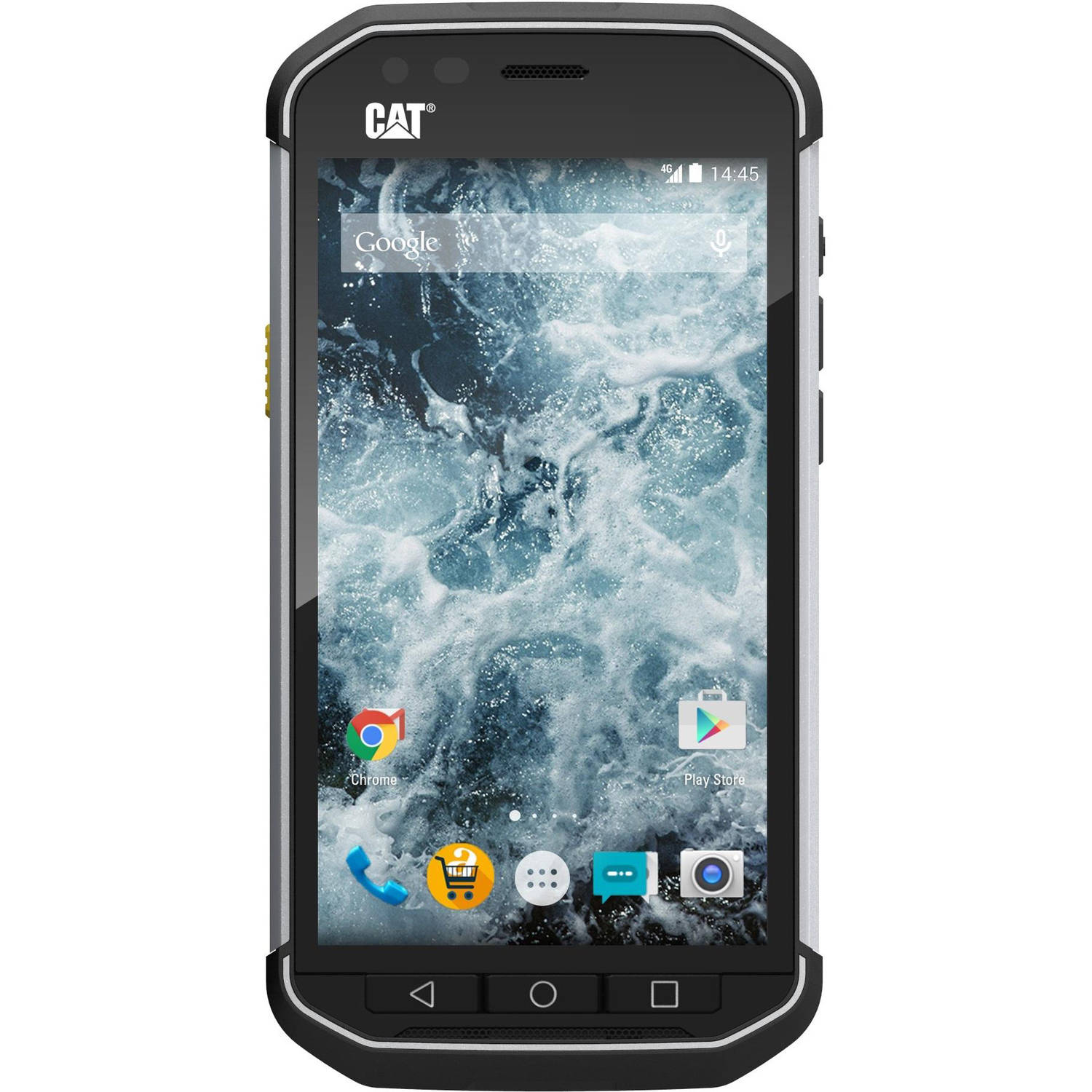 CAT S40 GSM 4G Refined Rugged + IP68 Certified Smartphone (Unlocked)