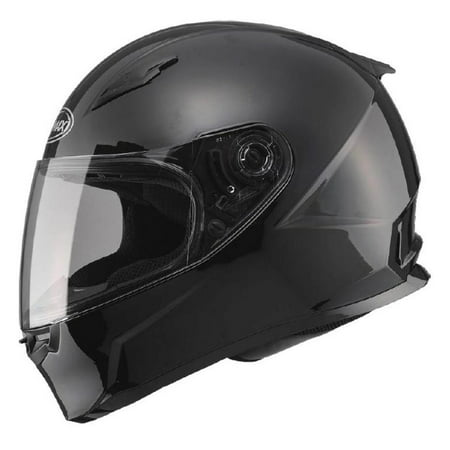 G-Max FF49 Snow Helmet with Electric Shield Gloss Black (Black, Medium)
