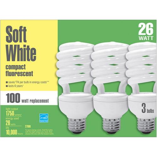 Basic CFL Spiral  26wt Case - 12 bulbs