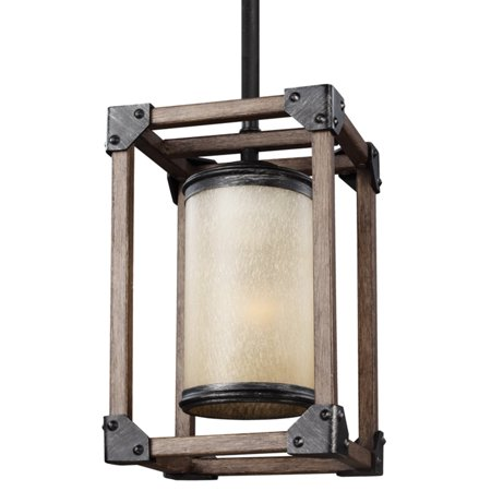 Sea Gull Lighting Dunning 6113301 1-Light Mini-Pendant
