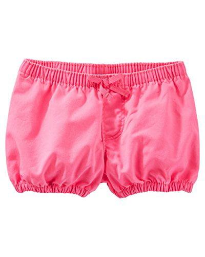 OshKosh B'gosh Baby Girls' Neon Bubble Bottoms - Hot Pink - 9 Months