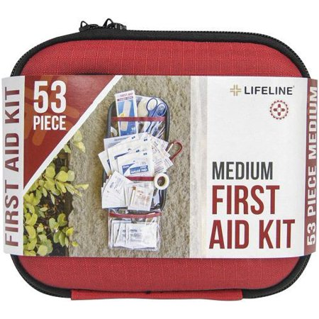 Bottle Lifeline First Aid - Lifeline 568207 Hrd Shll First Aid Kit Md 53pc, Pack of 1