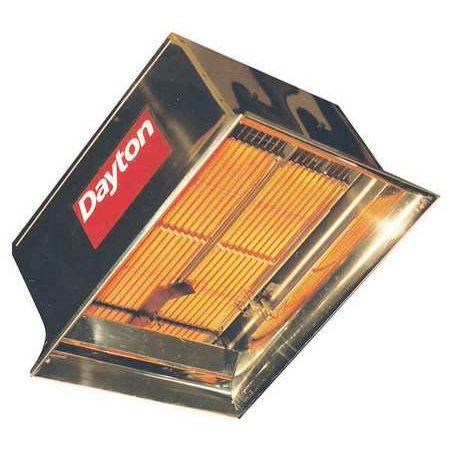 DAYTON 3E133 Commercial Infrared Heater,NG,60,000 ()