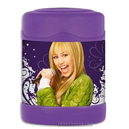 Kids Food Thermos - Hannah Montana Thermos FUNtainer F3009HM6 Hannah Montana Funta Food Jar