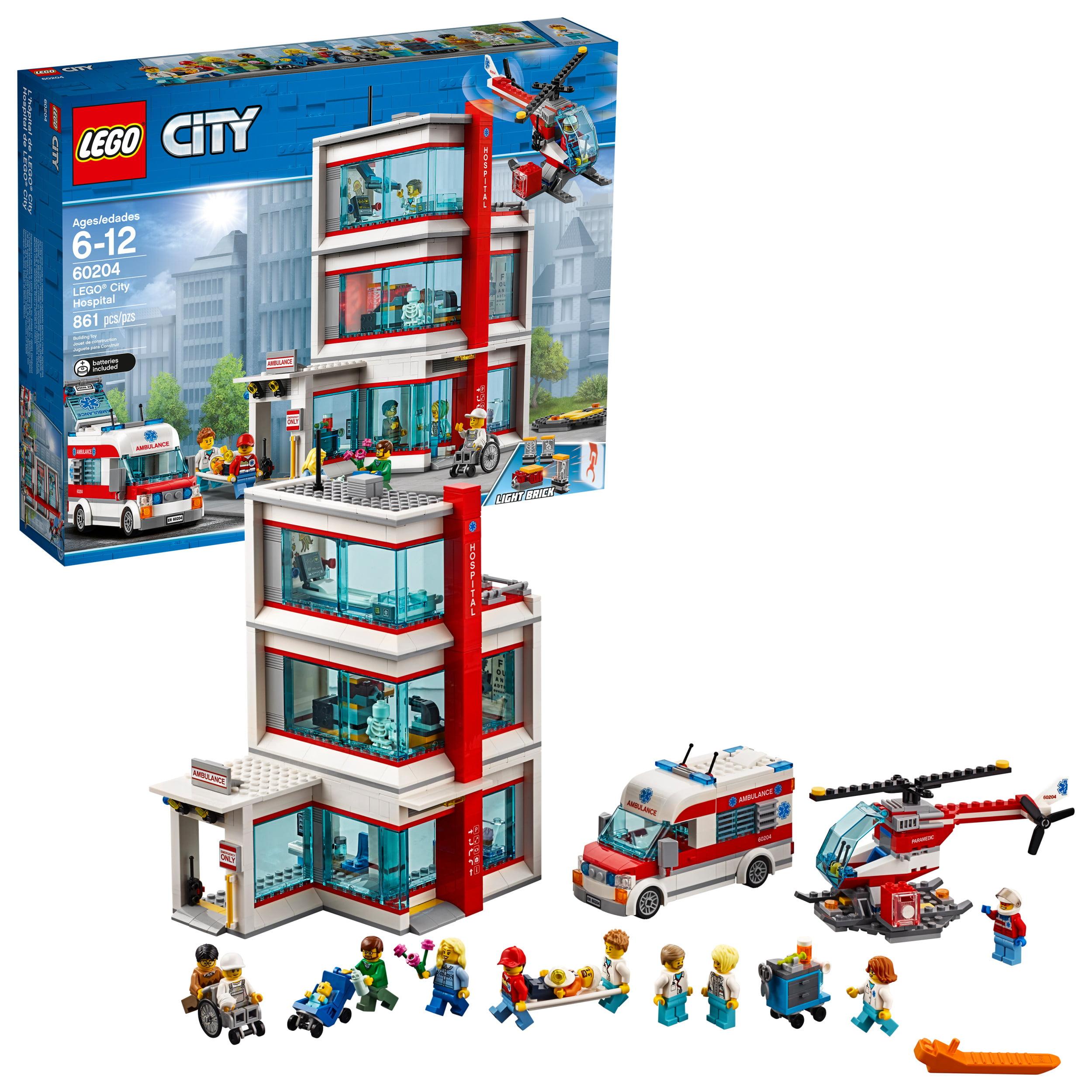 LEGO City Hospital 60204 - Walmart.com