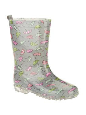 45a8d862caa7 Product Image Dainty Umbrellas Printed Girls' Jelly Rain Boots