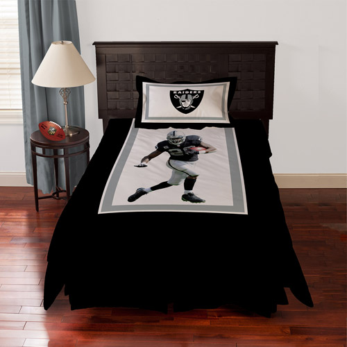Biggshots Oakland Raiders Darren McFadden Bedding Comforter Set